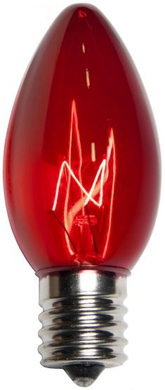 C9 Christmas Light Bulb C9 Red Christmas Light Bulbs
