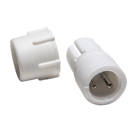 "2-Wire, 13mm (1/2""), Power Connector"