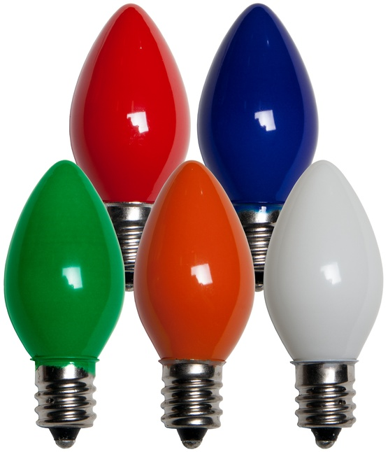C7 Christmas Light Bulb - C7 Multicolor Christmas Light ...