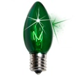 C9 Twinkle Green Replacement Bulbs