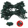 "119' C7 Commercial Light Stringer, SPT1 Green Wire, 12"" Spacing"