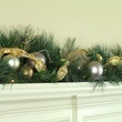 Scotch Mixed Pine Battery Operated LED Christmas Garland, Warm White Lights