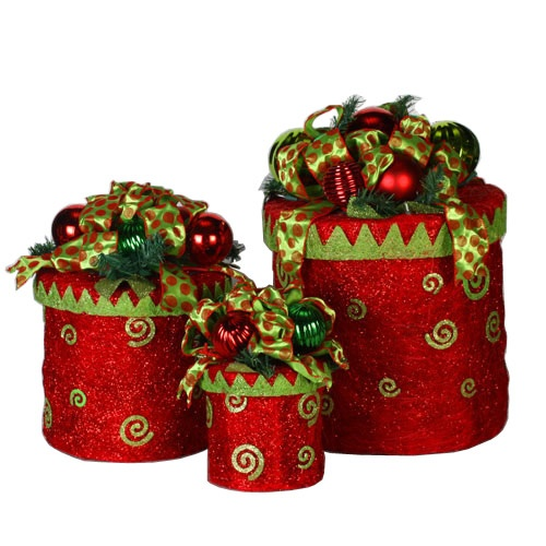 170 Light Sisal Gift Box, 3 Piece Set