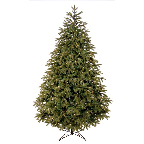 7.5' Fraser Fir Tree, 750 Clear Lamps