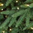 7.5' Full Pre-Lit Blue Aspen Fir Tree, 800 Warm White LED Lights