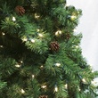 12' Full Pre-Lit Winchester Fir Tree, 2950 Multicolored Lamps