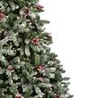 9.5' Full Pre-Lit Hawthorne Fir Tree, 1800 Clear Lamps