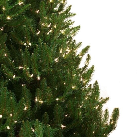 6.5' Pre-Lit Norway Spruce Tree, 950 Clear Lights