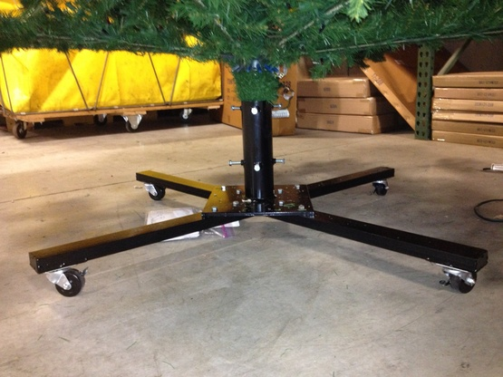 "42"" Heavy Duty Rolling Tree Stand, for Trees"