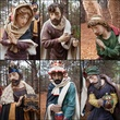 "25""H Christmas Nativity Scene Figures, 11 Piece Set"
