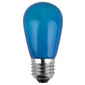 S14 Opaque Blue, 11 Watt Replacement Bulbs