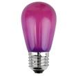 S14 Opaque Purple, 11 Watt Replacement Bulbs