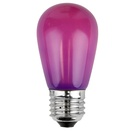 S14 Opaque Purple, 11 Watt Replacement Bulbs