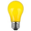 A15 Opaque Yellow, 15 Watt Replacement Bulbs