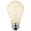 A19 Opaque White, 25 Watt Replacement Bulbs