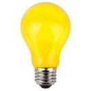A19 Opaque Yellow, 25 Watt Replacement Bulbs