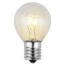 S11 Transparent Clear, 10 Watt Replacement Bulbs