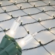 Commercial - 4' x 6' Net Lights - 150 Clear Lamps - Green Wire