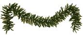 Norway Spruce Prelit LED Christmas Garland, Warm White Lights