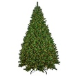 9.5' Medium Pre-Lit Brighton Fir Tree, 1500 Multicolored Lamps