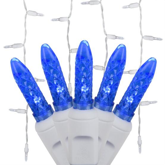 70 M5 Blue LED Icicle Lights