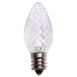 C7 Cool White LED Christmas Replacement Bulbs