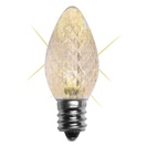 C7 Twinkle Warm White LED Christmas Light Bulbs