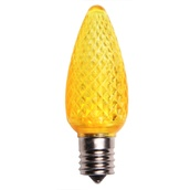 C9 Gold LED Christmas Light Bulbs