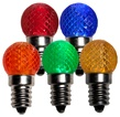 G20 Multicolor LED Globe Light Bulbs