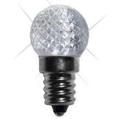 G20 Twinkle Cool White LED Globe Light Bulbs