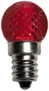G20 Red LED Globe Light Bulbs