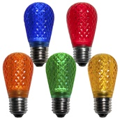 S14 T50 Multicolor LED Replacement Bulbs