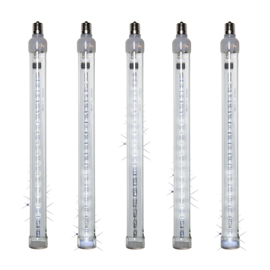 T8 Cool White Grand Cascade LED Light Tubes, E17 Base