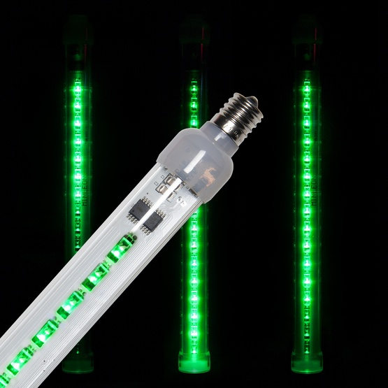 T8 Green Grand Cascade LED Light Tubes, E17 Base
