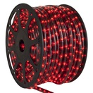 """150' HellFire Red Chasing Rope Light, 3 Wire 1/2"""", 120 Volt"""