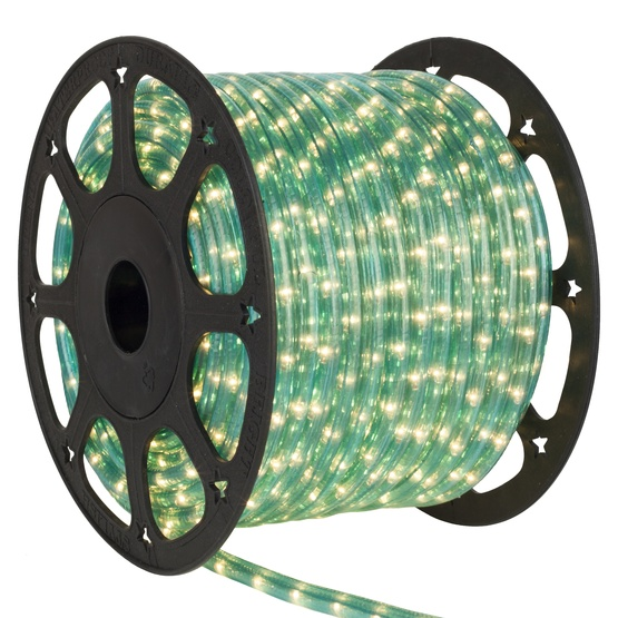"150' Aqua Blue Rope Light, 2 Wire 3/8"", 120 Volt"