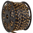 "150' Grey Chasing Rope Light, 3 Wire 1/2"", 120 Volt"