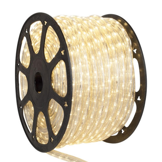 "150' Antique White LED Rope Light, 2 Wire 1/2"", 120 Volt"