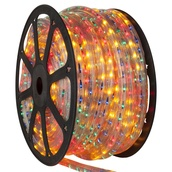 150' Multicolor Chasing Rope Light, 5 Wire (15mm), 120 Volt