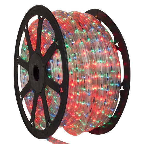 148' Multicolor Chasing Rope Light, 4 Wire (14mm), 120 Volt