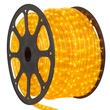 148' Yellow Chasing Rope Light, 4 Wire (14mm), 120 Volt