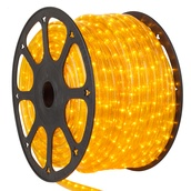 "150' Yellow Rope Light, 2 Wire 1/2"" x 1/2"", 120 Volt"