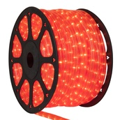 "150' Fluorescent Pink Rope Light, 2 Wire 3/8"", 120 Volt"