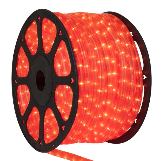 "150' Fluorescent Pink Rope Light, 2 Wire 1/2"", 120 Volt"