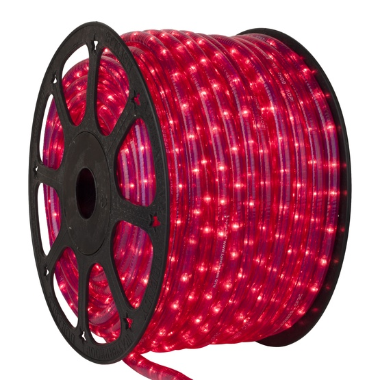 "150' Pink Chasing Rope Light, 3 Wire 1/2"", 120 Volt"