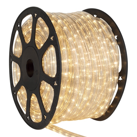 "150' Clear Rope Light, 2 Wire 3/8"", 12 Volt"
