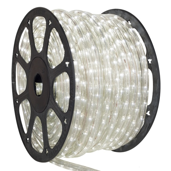 "150' Cool White LED Rope Light, 2 Wire 1/2"", 12 Volt"