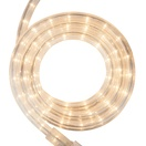 "18' Clear Rope Light, 2 Wire 1/2"", 120 Volt"