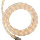 "12' Pearl White Rope Light, 2 Wire 1/2"", 120 Volt"