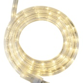 "18' Warm White LED Rope Light, 2 Wire 1/2"", 120 Volt"